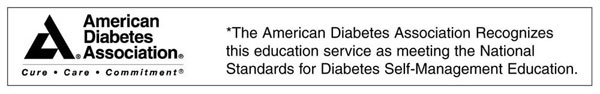 American Diabetes Association Seal of Approval